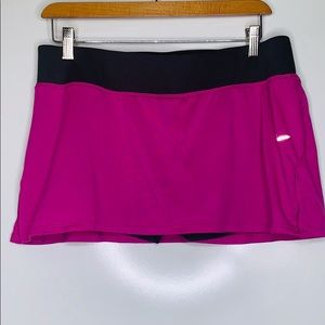 NIKE Dri-Fit Pink Grey Tennis  Running Skirt Skirt